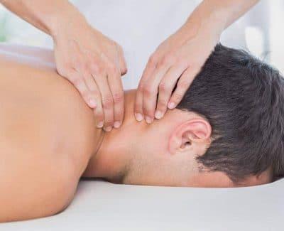 rug- nek- schoudermassage
